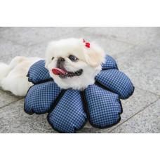 花朵防舔咬頭套《防潑水》【棉花板】(尺碼S)  **台灣新型專利設計**